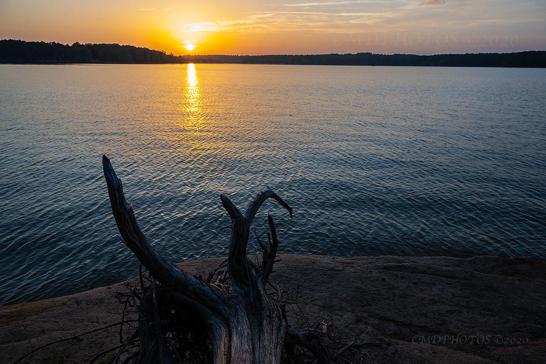 Jordan Lake Sunset 4