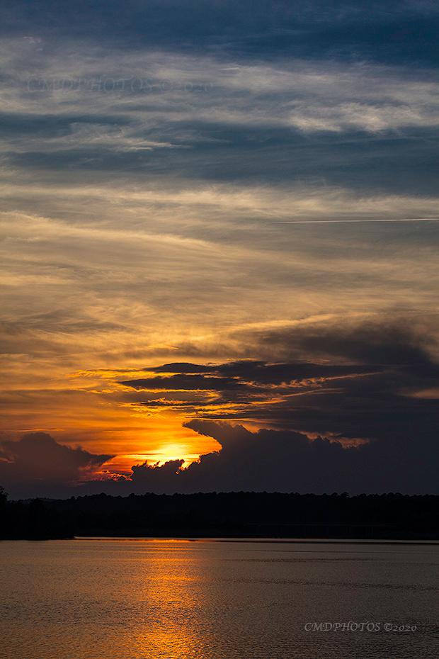 Jordan Lake Sunset
